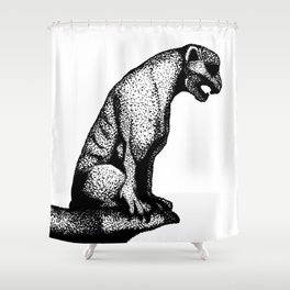 Gargoyle's Pet Shower Curtain