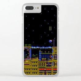 Casino Night Clear iPhone Case