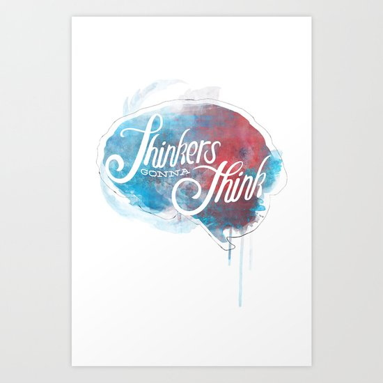 Thinkers Art Print