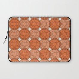 Red & Orange Circles Laptop Sleeve