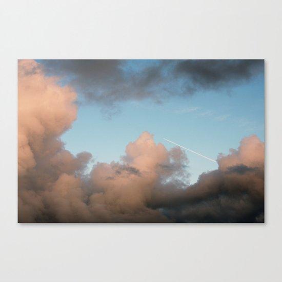 rocket ship... Canvas Print