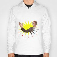 dwight schrute Hoodies featuring Dwight Schrute  |  The Office by Silvio Ledbetter