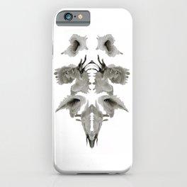 Rorschach Composition iPhone Case