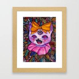 Kitty Katt Framed Art Print