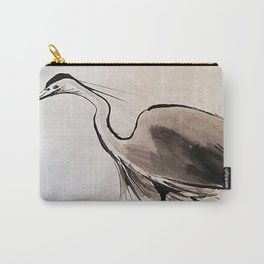 Japanese Crane #society6 #decor #buyart Carry-All Pouch
