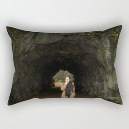The Transition from Summer to Winter Rectangular Pillow