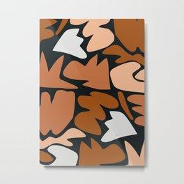 Free forms mosaic Metal Print