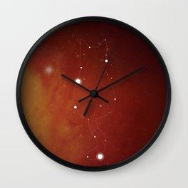 Halloween Cat Constellation Wall Clock