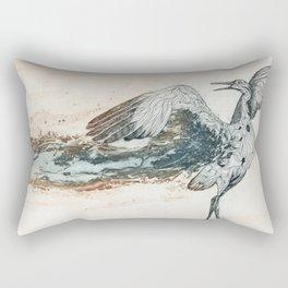 Birds of Prey Series: Dance of the Sandhills Rectangular Pillow