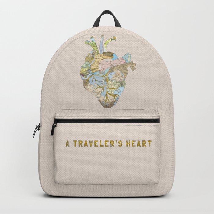 A Traveler's Heart Backpack