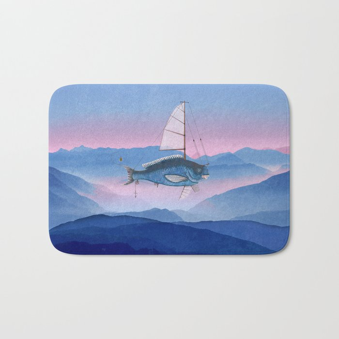 I want to fly Bath Mat