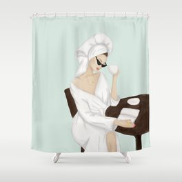 Don't talk to me Shower Curtain