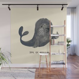 Seal Of Approval Wall Mural