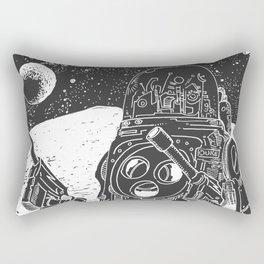 Duke of the Moon Rectangular Pillow