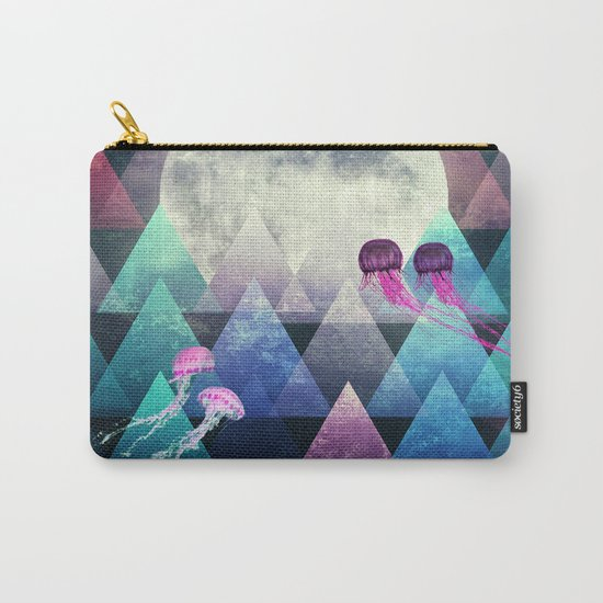 Sleeping Forest Carry-All Pouch