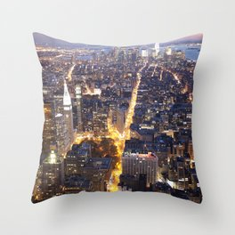 NYC FIRE Throw Pillow