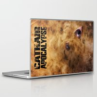 book cover Laptop & iPad Skins featuring Cathair Apocalypse Book 1 Cover by Cathair Apocalypse