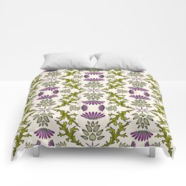 Wild Thistle Meadow Comforters