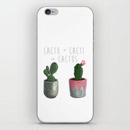 Cactu + Cacti = Cactus iPhone Skin