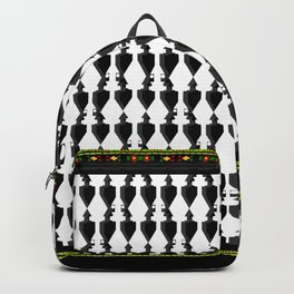 Tribal Ancient Sana'a Patterns by Mo Murshed Pt.7 Backpack