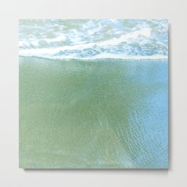 Green Sand Beach on Big Island, Hawaii, Macro View Metal Print