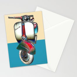 Moped Stationery Cards
