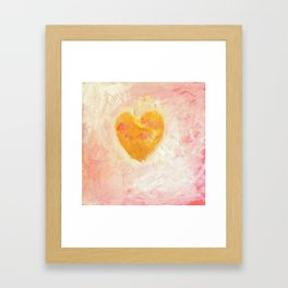 LOVE AND PEACE 2 Framed Art Print