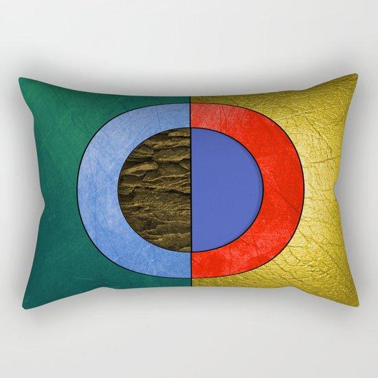Abstract #114 Rectangular Pillow