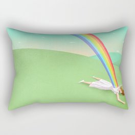 Can you support your dreams? Rectangular Pillow