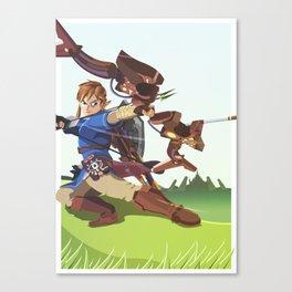 The Wilds - Legend of Zelda Canvas Print
