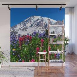 Mt. Rainier Skyline Trail, Mt. Rainier National Park Wall Mural