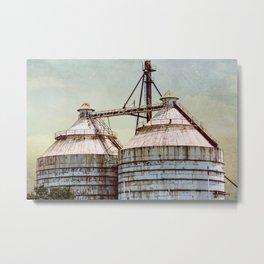 Magnolia Market Silos Waco Texas Metal Print