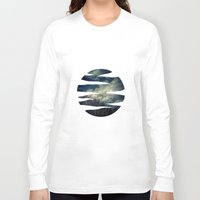 murakami Long Sleeve T-shirts featuring Evening Sky by Geni