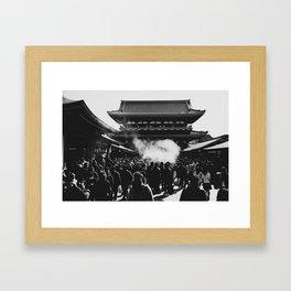 Sensoji Shrine Framed Art Print