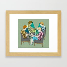 Smart ZOMBIE series-6 Framed Art Print