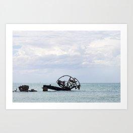 Wreck of the Ozone Art Print