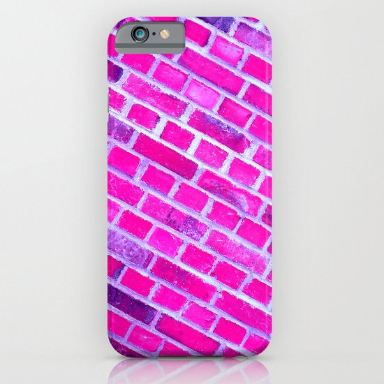 violet wall II iPhone & iPod Case