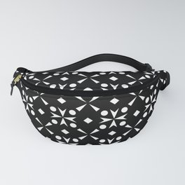 optical pattern 43 Fanny Pack