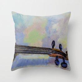 Stradivarius Throw Pillow