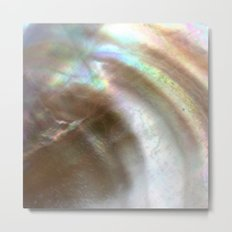 Mother of Pearl Metal Print