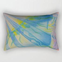Ocean abstraction #3 Rectangular Pillow