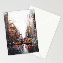 New York Streets Stationery Cards