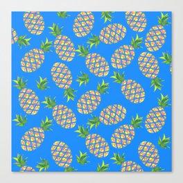 Tropical Pineapple Sunrise Canvas Print