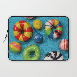 Carnival Donuts Laptop Sleeve