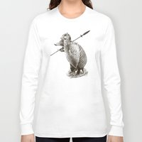 battlefield Long Sleeve T-shirts featuring Armadillo by Eric Fan & Viviana González by Eric Fan