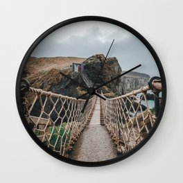 Carrick-a-Rede Wall Clock