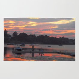 Sunset At The Cove Rug