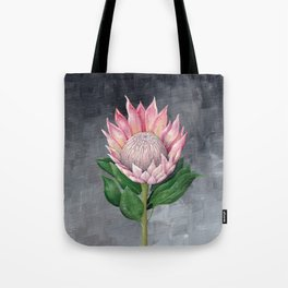 Protea Flower Painting Tote Bag
