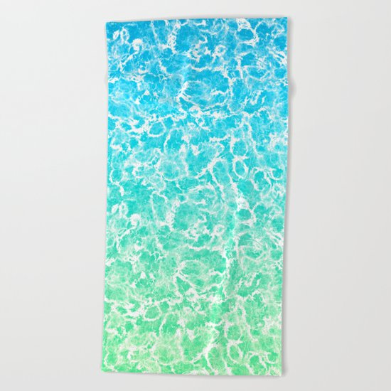 Ocean Vibes Beach Towel
