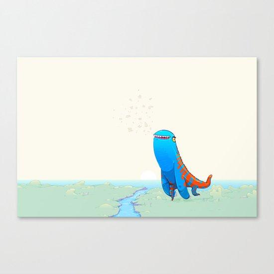 Derp Canvas Print